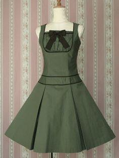 I need a cute green dress like this <3