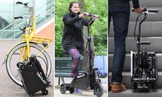 World's smallest electric scooter can fit in your briefcase