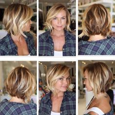 Für Cheryl – Neue Frisuren, – For Cheryl – New hairstyles, # for ones Messy Short Hair, Short Hairstyles For Thick Hair, Short Hair Cuts, Short Wavy, Short Blonde, Trendy Hairstyles, Messy Bob, Layered Bob Hairstyles, Pixie Haircuts