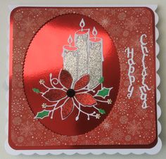 Memory Box poinsettia candle die. Rob Addams sentiment. Christmas Candle, Christmas 2017, Poinsettia, Candles, Tags, Box, Snare Drum, Candy, Candle Sticks