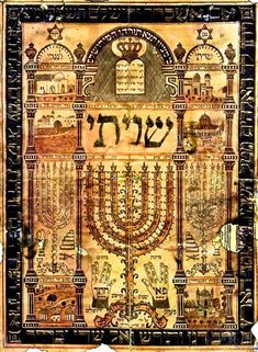 Shiviti - Jewish Mystical Images | Art Found Out World Arts Observed