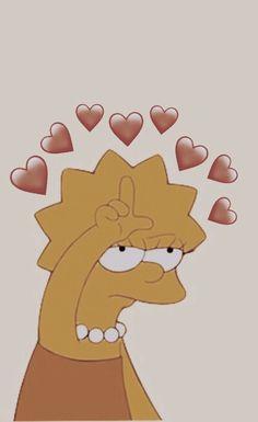 Lisa Simpson, Heart, Fictional Characters, Fantasy Characters, Hearts