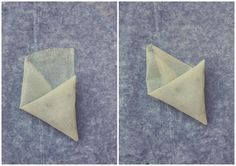 tuto pliage de feuille de brick en triangle blog chez requia 5