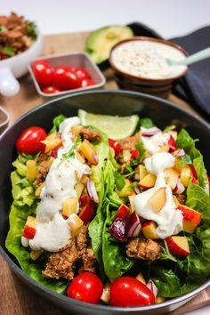 Prøv en ny vri på tacoen! I ekte Green Bonanza-stil er det bare friske og grønne råvarer i denne tacoen. Tør du prøve?