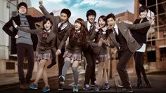 It features miss A's Suzy, Kim Soo Hyun, T-ara's Eunjung, IU, and 2PM's Taecyeon and Wooyoung. Six students at Kirin High School have the dream of becoming Kpop idols.  Suzy as Go Hye-mi originally wanted to become an opera singer, but is forced to take up mainstream pop to pay off her father's debt.  Kim Soo-hyun as Song Sam-dong is country bumpkin who is a music prodigy with a rare disease. O.O  Taecyeon as Jin-guk/Hyun Shi-hyuk has a contentious relationship with his politician father who…