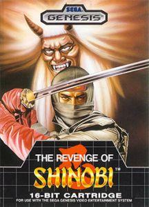 Sega Megadrive Revenge of Shinobi