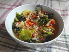 Od detstva som závislá na klasickej zeleninovej polievke s jačmennými krúpami. Pravidelne si varím jej rôzne variácie. Pre mňa je to to n...
