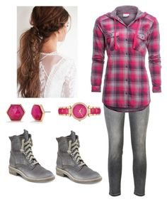"""""""Child of Hephaestus"""" by dancingqueen31903 ❤ liked on Polyvore featuring Current/Elliott, Columbia, Dolce Vita, Trina Turk and Michael Kors"""