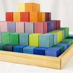 The Greater Pyramid Blocks | The Land of Nod | The ultimate in chromatic construction