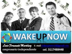 WakeUpNow  Revolution!   FORMULA DE ÉXITO   INVITA A 3,  AYUDA A LOS 3 A, OBTENER LOS 3  SOLO 12 PERSONAS 500 DOLARES AL MES  FUNDADOR 3 ¿Qué estás esperando? skipe :wakeupnowcali wakeupnowcali@gmail.com 3117488448 ingresa a www.cali.wakeupnow.com