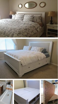 DIY King Size Bed