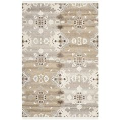 Safavieh Hand-woven Natural Kilim Grey Wool Rug (6' x 9')
