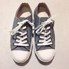 Denim sneakers by Paracia Footwear