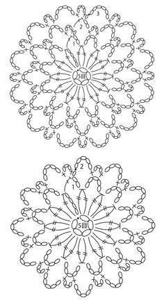 How to Crochet a Solid Granny Square Crochet Tablecloth Pattern, Crochet Doily Diagram, Crochet Motif Patterns, Crochet Chart, Crochet Doilies, Crochet Flowers, Crochet Tree, Crochet Mandala, Crochet Circles