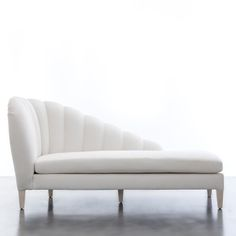 Guinevere Chaise | Shine by S.H.O.  Please contact Avondale Design Studio for more information on any of the products we feature on Pinterest. Daybed Design, Sofa Design, Furniture Design, Design Design, Bedroom Sofa, Living Room Sofa, Sofa Chair, Sofa Set, Home Interior
