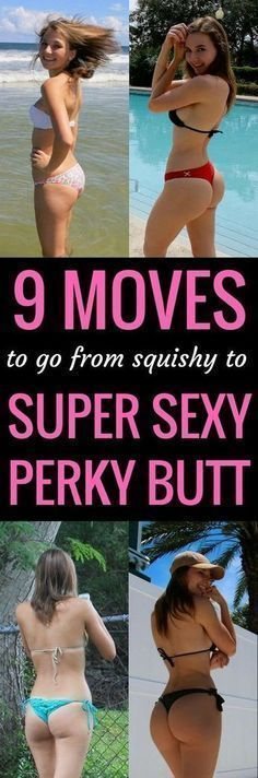 9 exercises to a super sexy perky butt