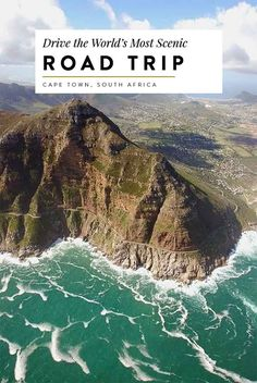 cape town south africa an incredibly scenic coastal road trip from capetown to cape point, including stops at boulders beach to see african penguins, table mountain national park for a day hike and chapman's peak  travel guide, road trip, coastal drive, africa