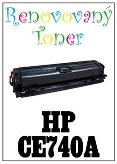 Renovovaný toner HP 307A / HP CE740A za bezva cenu 3610 Kč