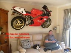 This is the real bike lover..!!