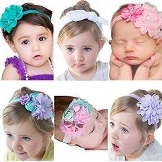 Visokar® Adorable Baby's Headbands Girl's Hair Bows Newbo…