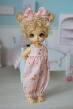A One Of A Kind Outfit by Carlas Couture for PukiPuki, Lati White SP or dolls of a similar size like iMda Dubu and Brownies All patterns and designs