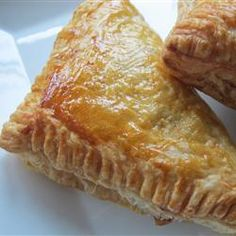 """Apple Turnovers   """"My family ate these up within minutes. They are best from the oven, slightly cooled with the glaze. Yum Yum!"""""""