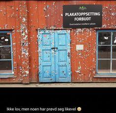 Ny post på bloggen. Plakatoppsetting forbudt. - https://www.leisegang.no/plakatoppsetting-forbudt/