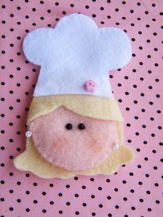 Lembrancinha chef de cozinha | Ateliê Imaginário | 20B78A - Elo7