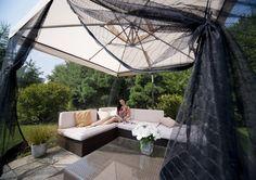 Parasol ogrodowy RIO - prod. Litex (meble ogrodowe, parasole ogrodowe, parasol ogrodowy, parasol, meble tarasowe, zadaszenie tarasu, parasol do ogrodu, parasole do ogrodu, Garden Space)