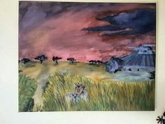 Africa's Stormy Dusk  Shannon Collyer