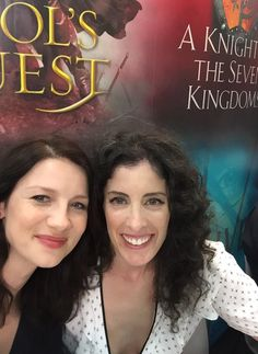 One of my favorite people... @caitrionambalfe Thx for the laughs lady. See u in a couple of weeks! @Outlander_Starz