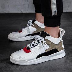 5448505287 Shoespie Patchwork Color Block Athletic Shoes
