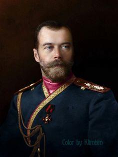 Фото дня: цветные снимки императорской семьи  Романовых, Buro 24/7  НИКОЛАЙ II