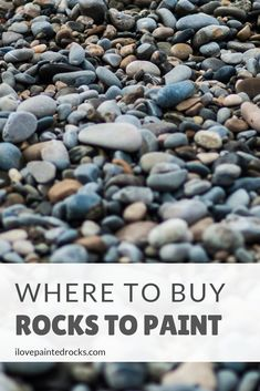 Get the beginners guide to painted rocks: where to find rocks to paint. Because before you can get started painting rocks, you need to know where to get rocks that you can paint! Pebble Painting, Pebble Art, Stone Painting, Painting Art, Rock Painting Supplies, Rock Painting Ideas Easy, Outside Paint, Watercolor Paintings For Beginners, Rock Hunting