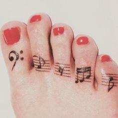 Toe Tattoo Ideas