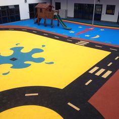 School Playground Flooring Contractors