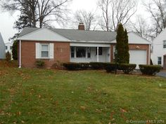 "Wethersfield - ""It's a Brick...HOUSE"" at 411 Brimfield Rd. Offered by Coldwell Banker's Lori Gabriel for $184,900. Call Lori at 860-982-5837 to learn more or click the photo to contact a McCue Mortgage Loan Originator about financing."