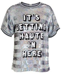 Shop now: Ashish Sequin Tee