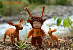 Forest Friend with Deer