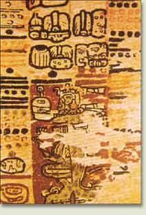 Fragmento del Codice de Paris (codice maya)