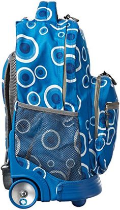 Frozen Disney Large 16 Rolling Backpack Roller Wheeled Book Bag ...
