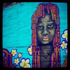Street art - Terrón Coloreado - Cali, Colombia. Most of every wall:)