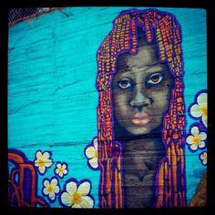Street art - Terrón Coloreado - Cali, Colombia