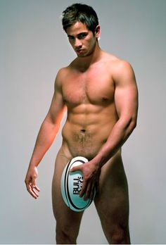 Danny Cipriani poses with a rugby ball