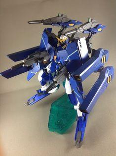HG 1/144 Gundam Dynames - Custom Build - Gundam Kits Collection News and Reviews