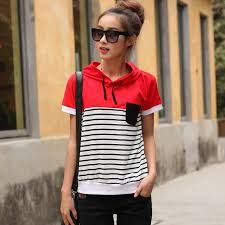 Image result for striped t shirt styles women