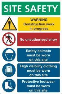 Construction Signs | CSS Signs Shop Health And Safety Poster, Safety Posters, Health Ads, Safety Slogans, Site Sign, Construction Safety, Sign Writing, Workplace Safety, Shop Signs