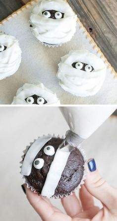 mummy cupcake inspiration More