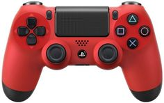 DualShock 4 Wireless Controller for PlayStation 4 - Magma Red: The anti-camouflage.