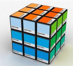 pantone rubik's cube.